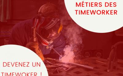 Les différents métiers des Timeworkers